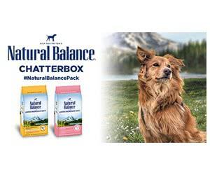 Free Natural Balance Dry Dog Food Bag