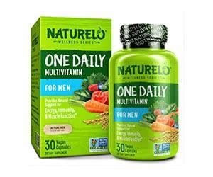 Free Naturelo Men Multivitamin Sample