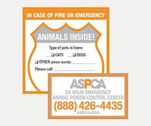 Free ASPCA Pet Safety Pack + Magnet