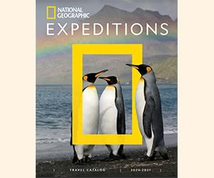 """Free National Geographic """"Expeditions"""" Printed Catalogues"""