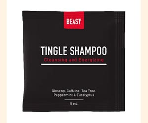 Free Beast Tingle Shampoo Sample