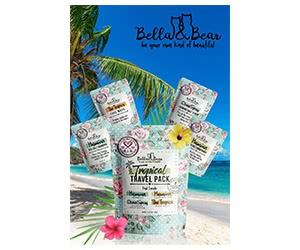 Free Bella And Bear Cleansers Travel Pack