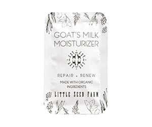 Free Goat's Milk Moisturizer Sample