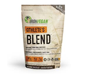 Free Iron Vegan Athlete's Blend Protein Powder
