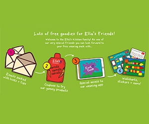 Free Ella's Kitchen Food Samples, Wallcharts, Stickers And More