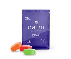 Free Calm By Wellness Hemp CBD Sample Pack