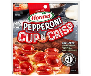 Free Hormel Pepperoni Cup 'N Crisp Sample