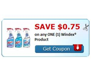 Save $0.75 on any ONE (1) Windex® Product