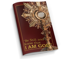 """Free Meditation Booklet """"Be Still And Know That I Am God"""""""
