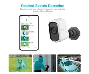 Free Soliom Smart Battery Security Camera