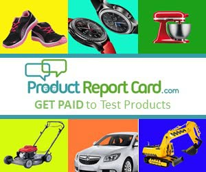 Get Paid to Test & Review Products