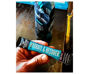 Free Working Athlete Hydrate And Recovery Sport Drinks Samples