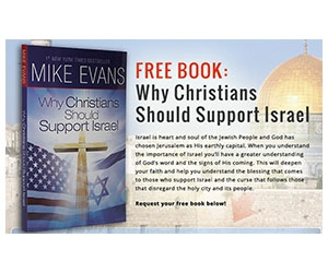 "Free Book ""Why Christians Should Support Israel"""