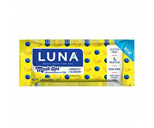 Free Luna Mash-Ups Lemonzest And Blueberry Protein Bar