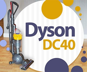Free Dyson DC40 Vacuum Cleaner To Test And Keep