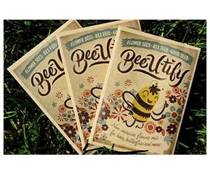 Free Bee-U-Tify Seed Packet
