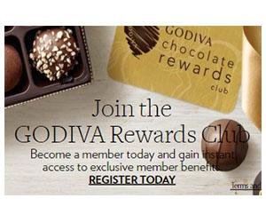 Free Godiva Chocolate Gifts