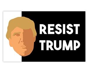 "Free ""Resist Trump"" Sticker"