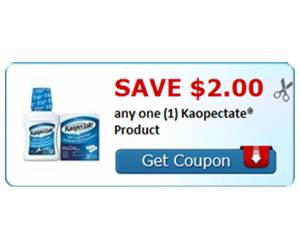 Save $2.00 any one (1) Kaopectate® Product