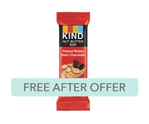 Free KIND Nut Butter Bar