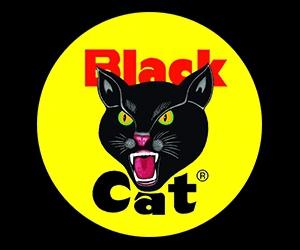 Free Sticker From Black Cat Fireworks