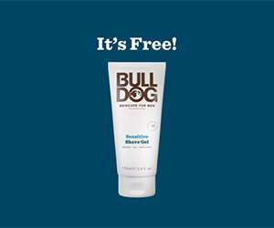 Free full-size Sensitive Shave Gel