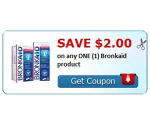 Save $2.00 on any ONE (1) Bronkaid product