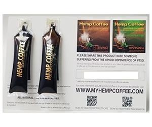 Free All American Hemp Coffee Sample