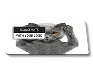 Free Mouse Mat Sample With Your Company's Logo From Mr. Mousepad