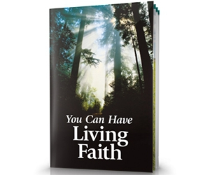 "Free ""You Can Have Living Faith"" Bible Study Aid Booklet"