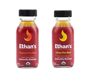 Free Ethan's Fire Cider x2 Shots Sample Pack