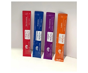 Free Vermilion Jelly Supplements x5 Sachets Sample Pack