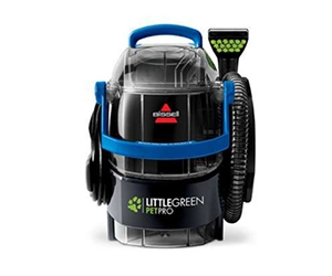 Free Bissell Little Green Pet Pro Carpet Cleaner