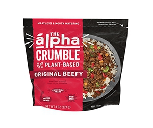 Free Alpha Foods Plant-Based Crumble