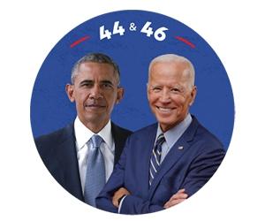 Free Obama and Biden Sticker