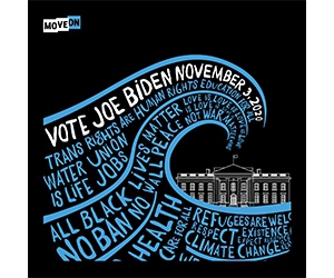 Free Blue Wave 2020 Sticker