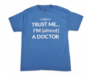 "Free ""Almost A Doctor"" T-Shirt"