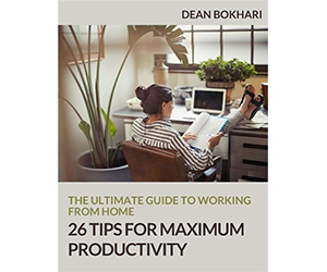 "Free Guide: ""The Ultimate Guide to Working from Home: 26 Tips for Maximum Productivity"""