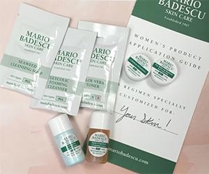 Free Mario Badescu Skin Care Samples