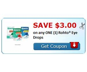 Save $3.00 on any ONE (1) Rohto® Eye Drops
