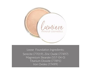 Free Lumiere Mineral Foundation Sample