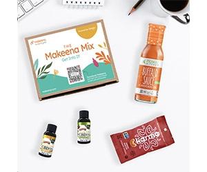 Free Makeena Mix Sample Box