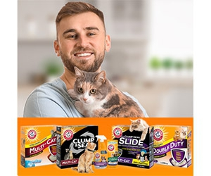 Free Arm & Hammer Cat Litter Samples