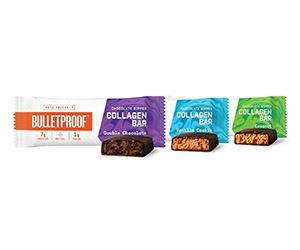 Free Bulletproof Chocolate Dipped Collagen Bars