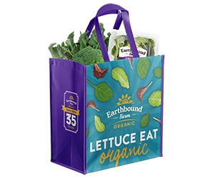 Free Reusable Earthbound Farm Tote Bag from Earthbound Farm