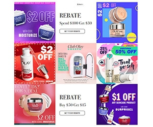Free Olay Coupons, Samples, and Exclusive Offers