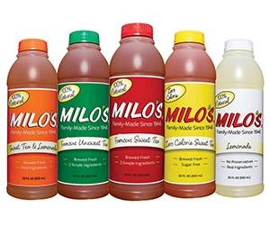 Free Milo's Lemonade Or Tea 20oz Bottle