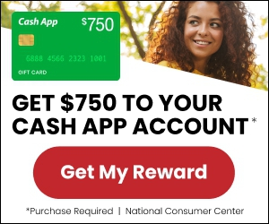 Win $750 Cash App Gift Card