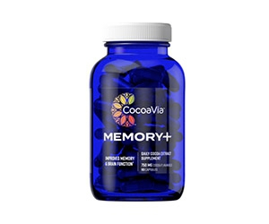 Free Memory+ Dietary Supplement From CocoaVia