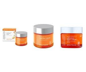 Free Glycolic Mask, Renewal Cream, And Luminous Night Cream From Andalou Naturals